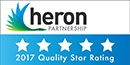 Heron 5 star quality rating